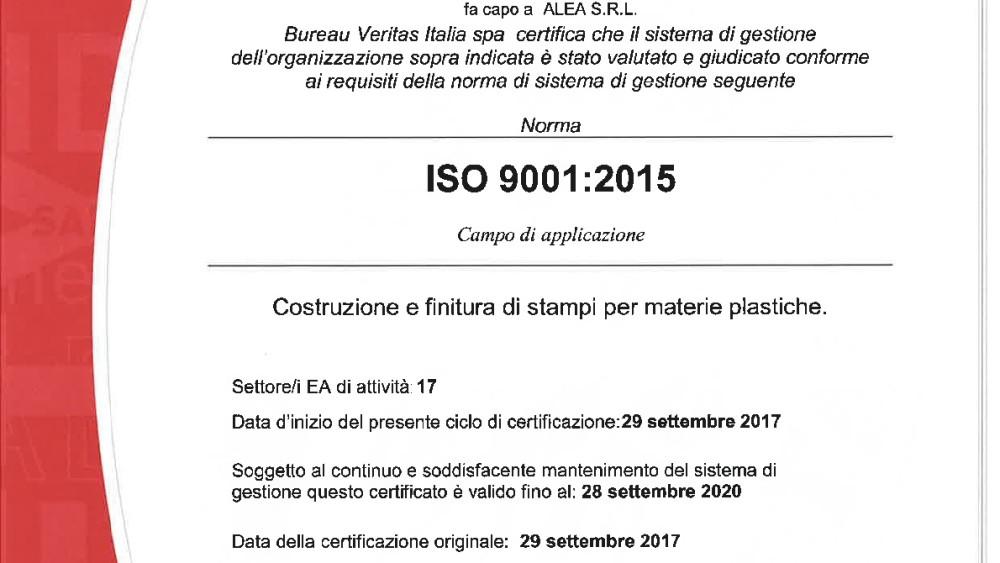 ALEA SRL-9001 ZANOLA-001